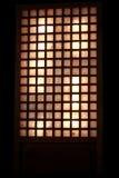 Typisches spanischaussehendes Fenster Lizenzfreie Stockfotos