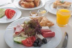Typisches türkisches Frühstück lizenzfreies stockbild