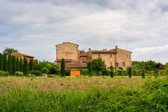 Typisches toskanisches Haus Lizenzfreies Stockfoto