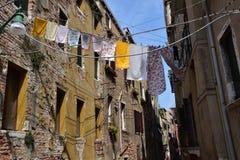 Typisches Venedig Stockfoto