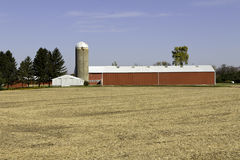 Typisk amerikansk lantgård Arkivfoton