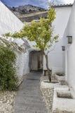 Typisk Andalusian hus Arkivbilder
