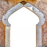 Typisk arabisk isolerad arkitekturingångsvit Arkivfoton