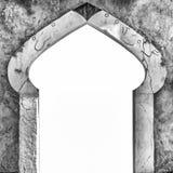Typisk arabisk isolerad arkitekturingångsvit Arkivbilder