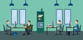 Typisk arbetsdagsi kontoret Royaltyfri Fotografi