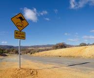 Typisk australisk vildmark Arkivbild