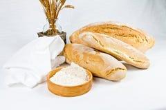 Typisk bröd för italienare arkivfoton