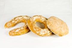 Typisk bröd för italienare fotografering för bildbyråer