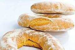 Typisk bröd för italienare arkivbild