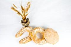 Typisk bröd för italienare arkivfoto