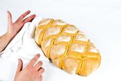Typisk bröd för italienare royaltyfri fotografi