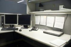typisk cubicle Arkivfoton