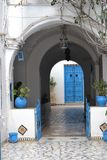 typisk dörr Royaltyfria Foton