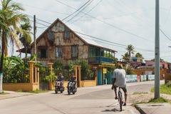 Typisk dag i San Andrés arkivfoto