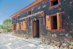 Typisk hus Bento Goncalves Brasilien Arkivbilder