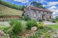 Typisk hus Bento Goncalves Brasilien Arkivbild
