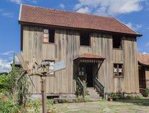 Typisk hus Bento Goncalves Brasilien Arkivfoto