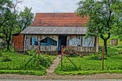 Typisk hus i liten by av Baraji Arkivbild