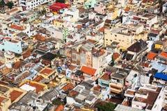 Typisk indisk stad Arkivfoto