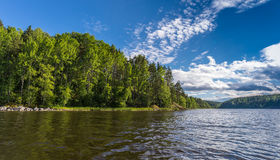Typisk Ladoga landskap Royaltyfri Fotografi