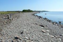Typisk landskap av Sverige Royaltyfria Foton