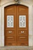Typisk Lisbon dörr Royaltyfri Fotografi