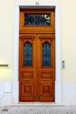 Typisk Lisbon dörr Arkivfoto