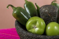 Typisk mexicansk kokkonst arkivfoto