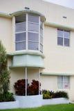 Typisk Miami Beach för gammal stil arkitektur Royaltyfria Bilder