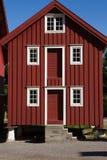 Typisk norvegian hus Royaltyfri Foto