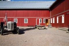 Typisk norvegian hus Royaltyfria Bilder