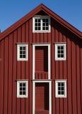 Typisk norvegian hus Fotografering för Bildbyråer