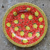 Typisk sicilian krukmakeri Fotografering för Bildbyråer