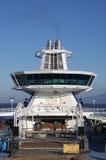 Typisk stång för däck för kryssningskepp Royaltyfri Fotografi