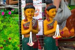 Typisk thai staty royaltyfri bild