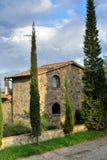 Tuscan hus fotografering för bildbyråer