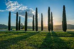Typisk tuscan liggande arkivbilder