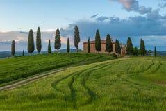 Typisk tuscan liggande fotografering för bildbyråer