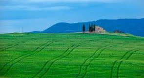 Typisk tuscan liggande Royaltyfri Foto