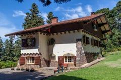 Typisk tyskt hus Gramado Brasilien Royaltyfria Foton