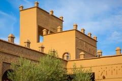 Typiska beståndsdelar av marockansk arkitektur Arkivbilder