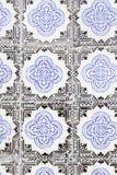 Typiska gamla Lissabon tegelplattor Royaltyfri Bild