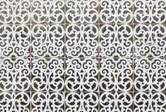 Typiska gamla Lissabon tegelplattor Royaltyfri Fotografi