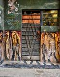 Typiska Havana Doorway Arkivbilder