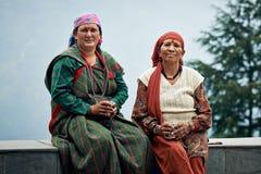 Typiska lokala indiska kvinnor av norr Indien Royaltyfria Foton