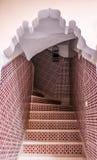 Typiska maroccan trappor Royaltyfria Bilder