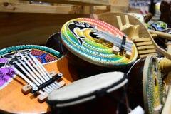 Typiska musikinstrument indonesia Arkivfoton
