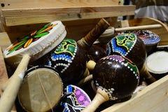 Typiska musikinstrument indonesia Royaltyfri Foto