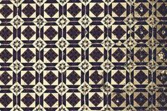 Typiska portugistegelplattor, blåa Azulejo, spanjor, italienare och mo vektor illustrationer