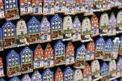 Typiska souvenir i Amsterdam Royaltyfri Bild